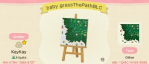 Baby Grass The Path Bottom Left